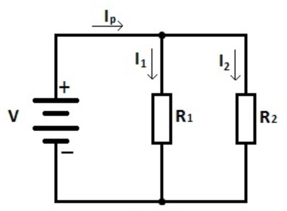 2  resistors in series and parallel
